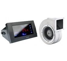 Комплект для котла (реле управления+вентилятор) KG Elektronik CS-19+DP-02 black