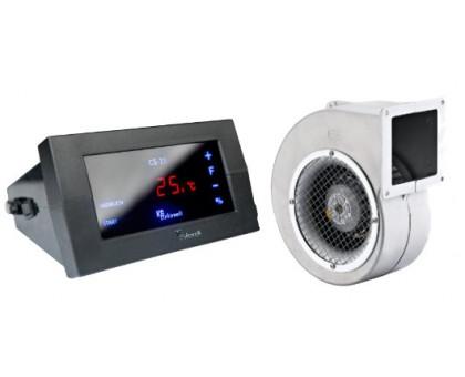 Комплект для котла (реле управления+вентилятор) KG Elektronik CS-19+DP-02
