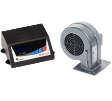 Комплект для котла (реле управления+вентилятор) KG Elektronik SP 05+DP-02 черный