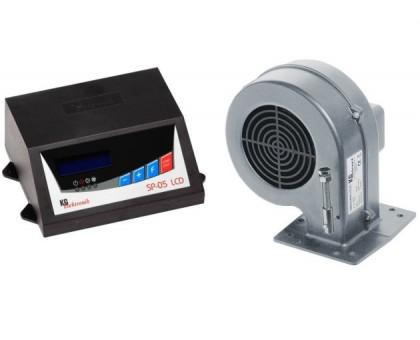 Комплект для котла (реле управления+вентилятор) KG Elektronik SP 05+DP-02