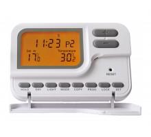 Термостат комнатный KG Elektronik С7 проводной (LED дисплей, программа 7 дней) white
