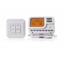 Термостат комнатный KG Elektronik С7 RF (программа 7 дней) без проводной white