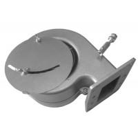 Вентилятор для котла KG Elektronik DP 02 PK боковая заслонка фланец 10,5х13,5 gray