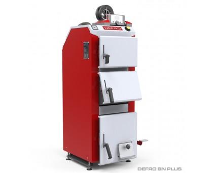 Котел твердотопливный DEFRO BN PLUS (с автоматикой) 15 кВт.