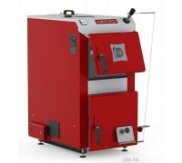 Котел твердотопливный DEFRO Delta 42 кВт. red-gray