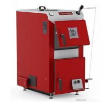 Котел твердопаливний DEFRO Delta 42 кВт. червоно-сірий.