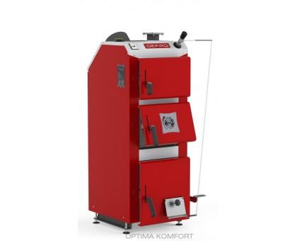 Котел твердотопливный DEFRO DELTA PLUS (с автоматикой) 49 кВт.