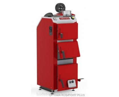Котел твердотопливный DEFRO Optima Komfort А PLUS (с автоматикой) 35 кВт.