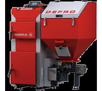 Котел твердотопливный DEFRO Sigma UNI 16 кВт. red