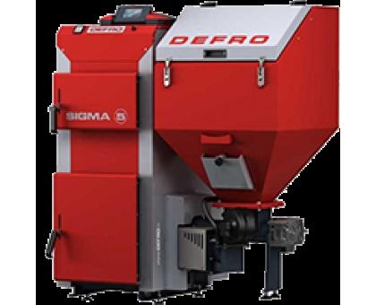 Котел твердотопливный DEFRO Sigma UNI 20 кВт.