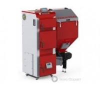 Котел твердотопливный DEFRO DUO UNI 15 кВт. red-gray