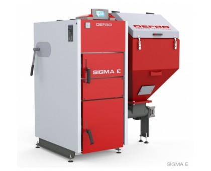Котел твердотопливный DEFRO Sigma E 24 кВт.