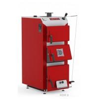 Котел твердопаливний DEFRO KDR 3 30 кВт. червоно-сірий.