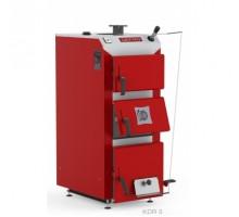 Котел твердопаливний DEFRO KDR 3 15кВт. червоно-сірий