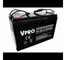 Аккумулятор  Volt Polska VPRO 100Ah 12V AGM VRLA black (6AKUAGM009)