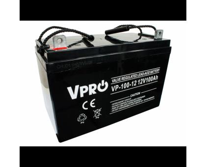 Аккумулятор  Volt Polska VPRO 100Ah 12V AGM VRLA