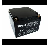 Аккумулятор  Volt Polska VPRO 26 Ah 12V AGM VRLA black (6AKUAGM009)