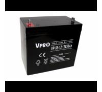 Аккумулятор  Volt Polska VPRO 55 Ah 12V AGM VRLA black (6AKUAGM009)