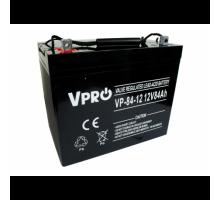 Аккумулятор  Volt Polska VPRO 84 Ah 12V AGM VRLA black (6AKUAGM009)