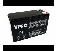 Аккумулятор  Volt Polska VPRO 9 Ah 12V AGM VRLA black (6AKUAGM009)