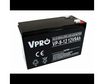 Аккумулятор  Volt Polska VPRO 9 Ah 12V AGM VRLA
