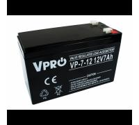Аккумулятор  Volt Polska VPRO 7 Ah 12V AGM VRLA black (6AKUAGM007)