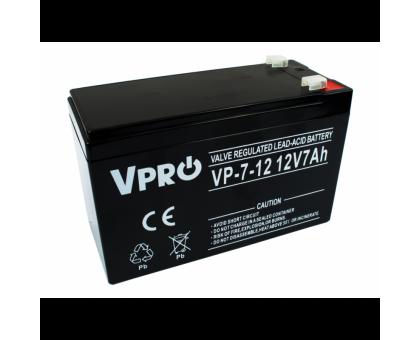 Аккумулятор  Volt Polska VPRO 7 Ah 12V AGM VRLA