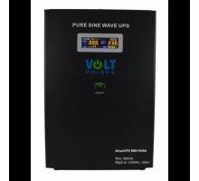 Источник бесперебойного питания Volt Polska Sinus UPS 800+55 Ah. black