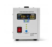 Источник бесперебойного питания Volt Polska Sinus PRO 500E 12V 220V white